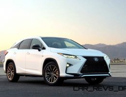 2016 Lexus RX350 and RX450h Are All-New Inside and Out in 84 Images!