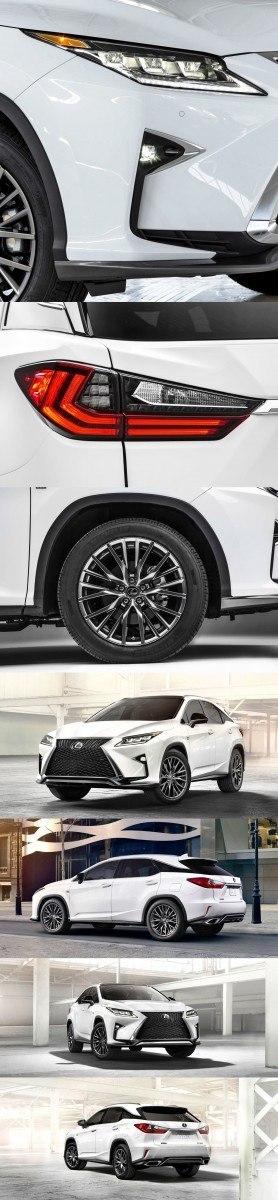 2016 Lexus RX350 F Sport 25-vert