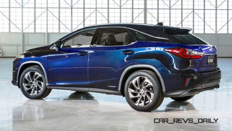 2016 Lexus RX450h 3