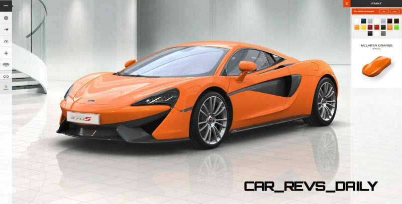 2016 McLaren 570S Coupe Configurator COLORS 5