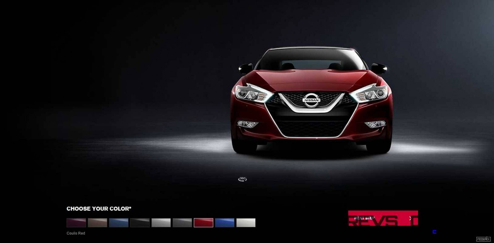 2016 Nissan Maxima Colors and Trims 1