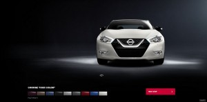 2016 Nissan Maxima Colors and Trims 10