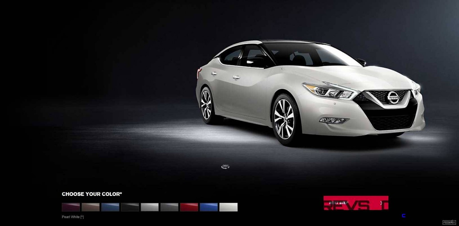 2016 Nissan Maxima Colors and Trims 11