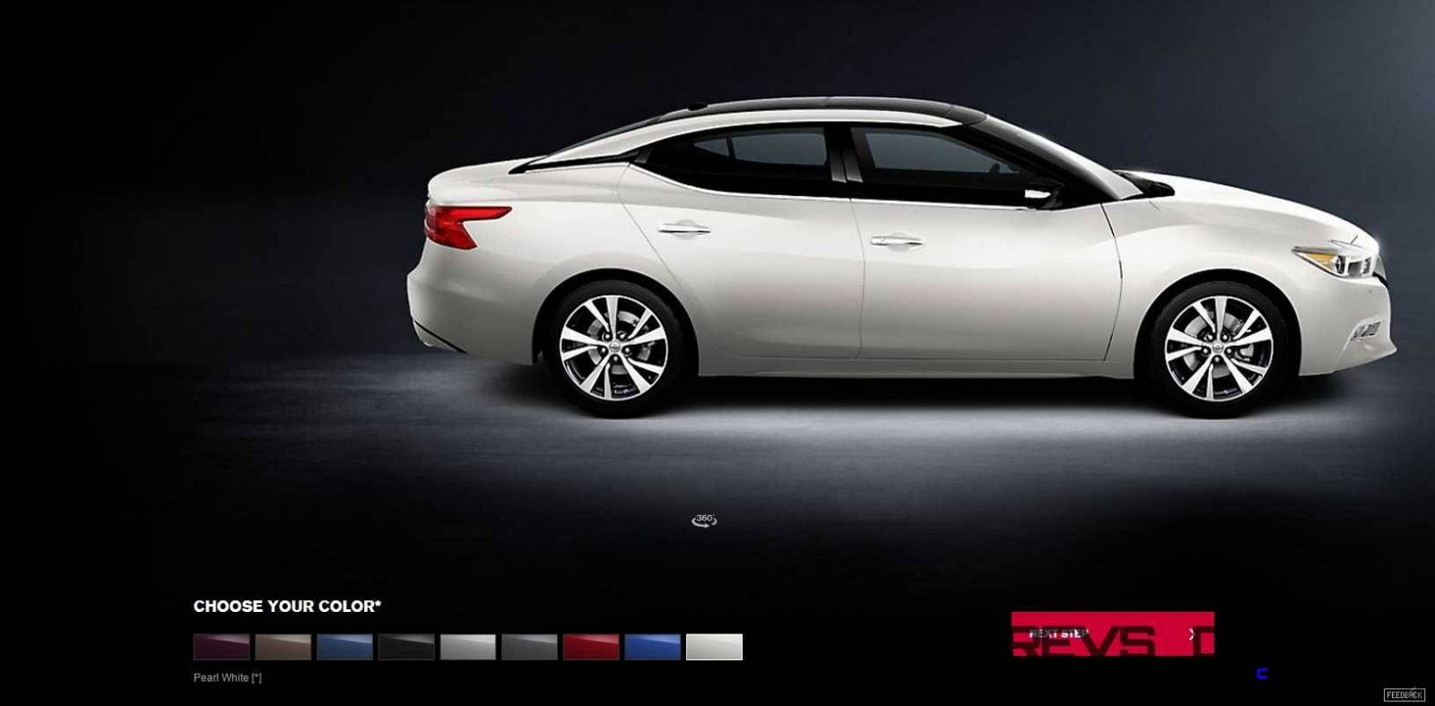 2016 Nissan Maxima Colors and Trims 12