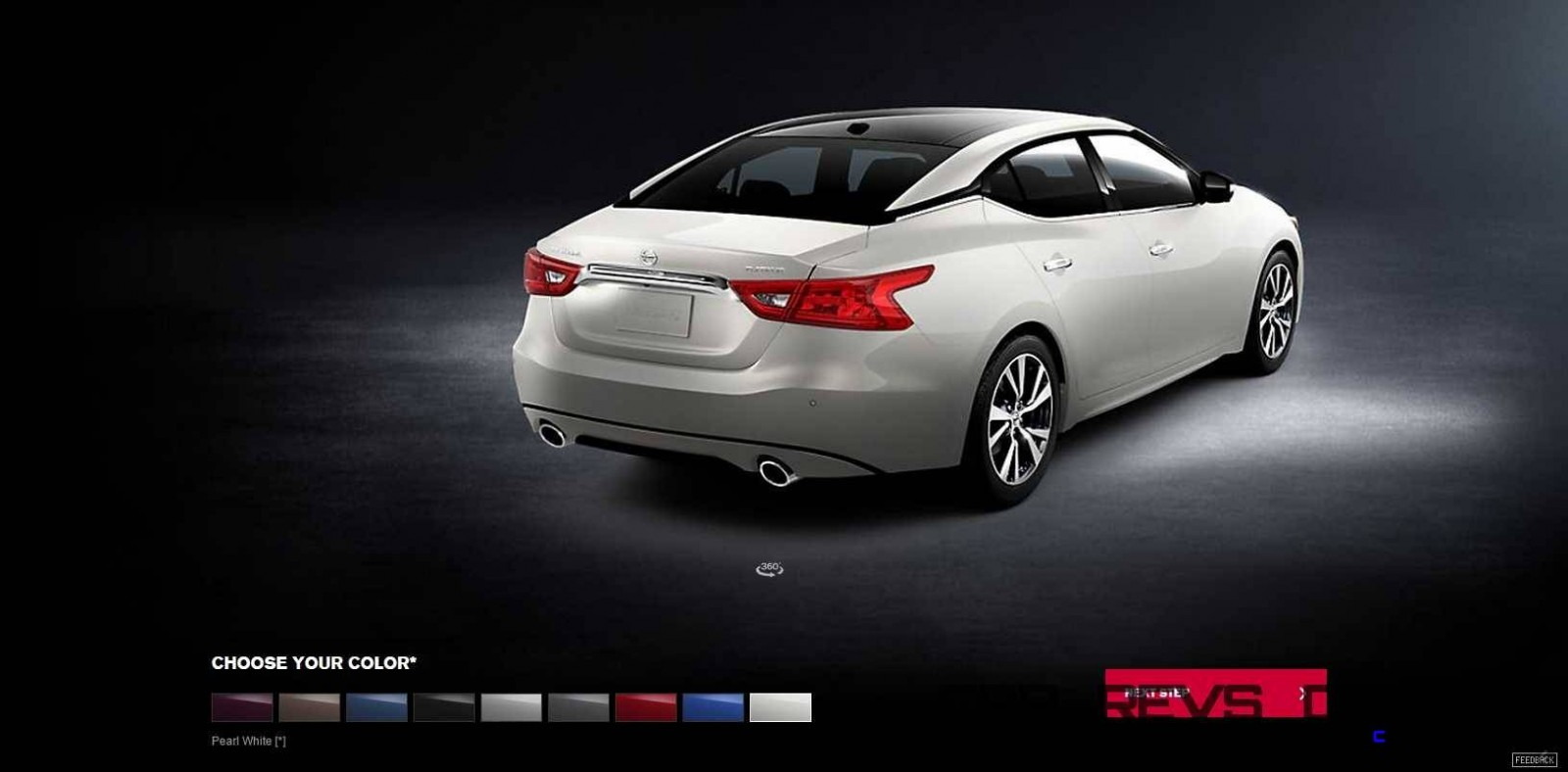 2016 Nissan Maxima Colors and Trims 13