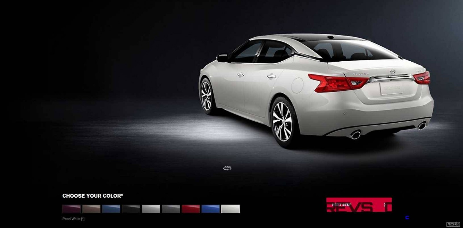 2016 Nissan Maxima Colors and Trims 15