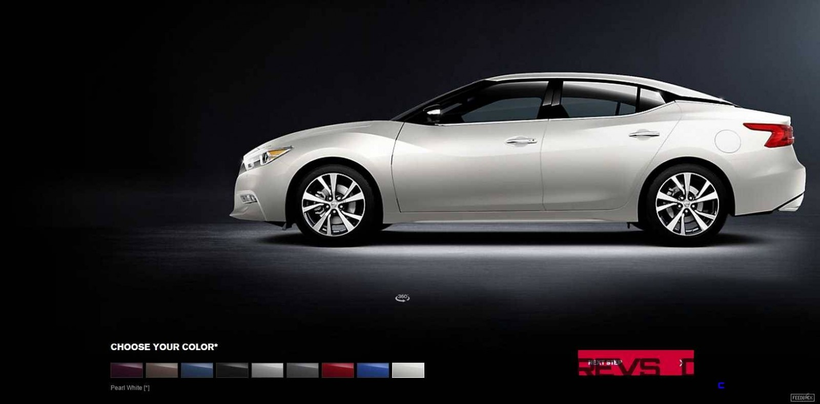 2016 Nissan Maxima Colors and Trims 16