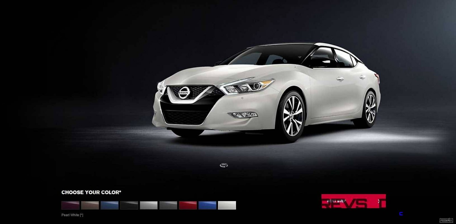 2016 Nissan Maxima Colors and Trims 17
