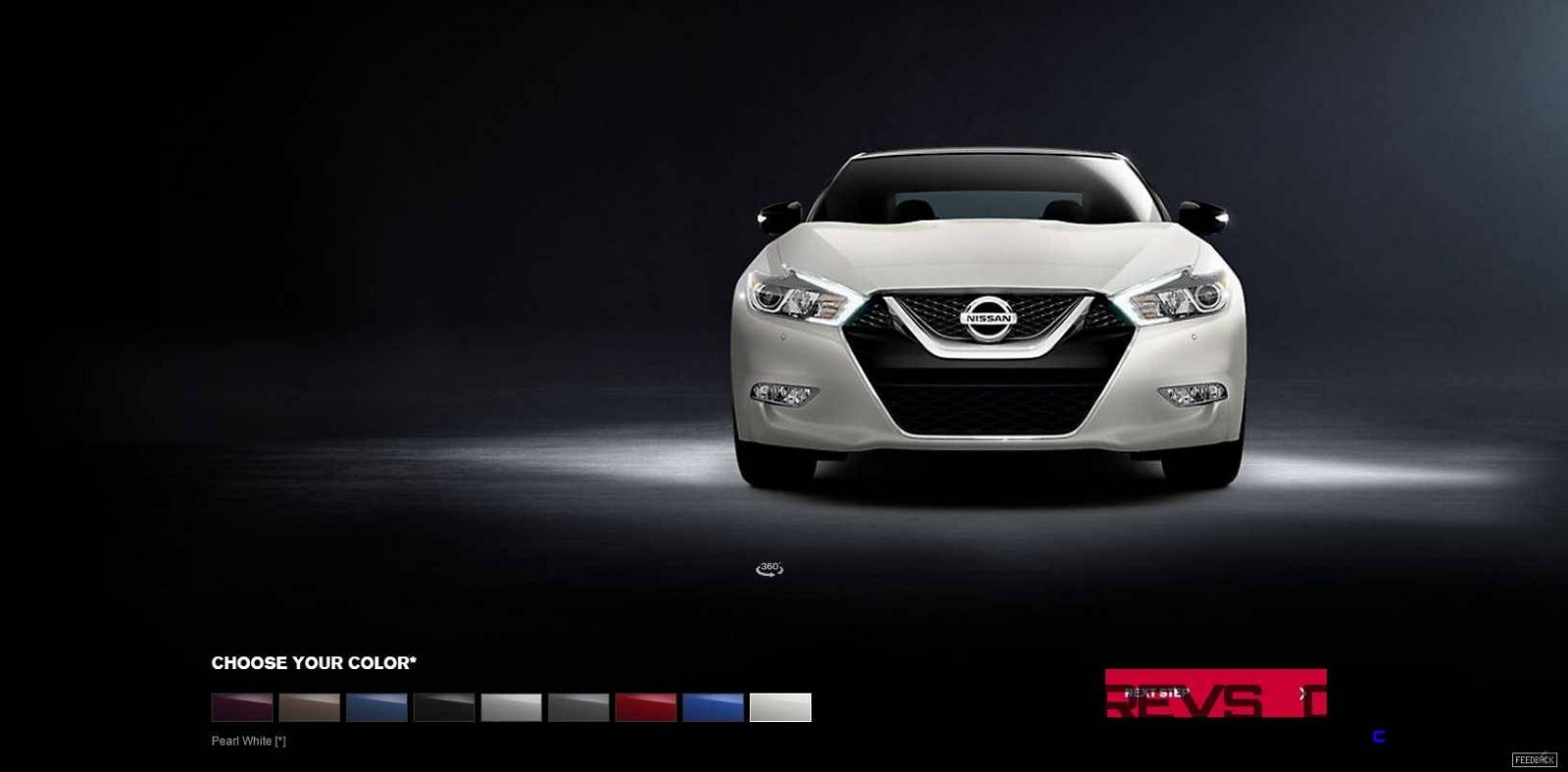 2016 Nissan Maxima Colors and Trims 18