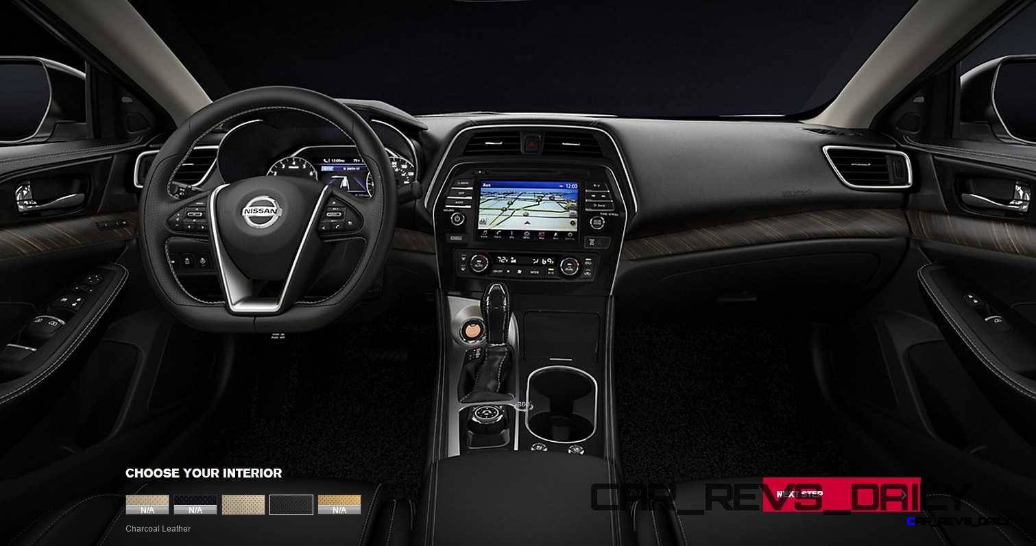 2016 Nissan Maxima Colors and Trims 20