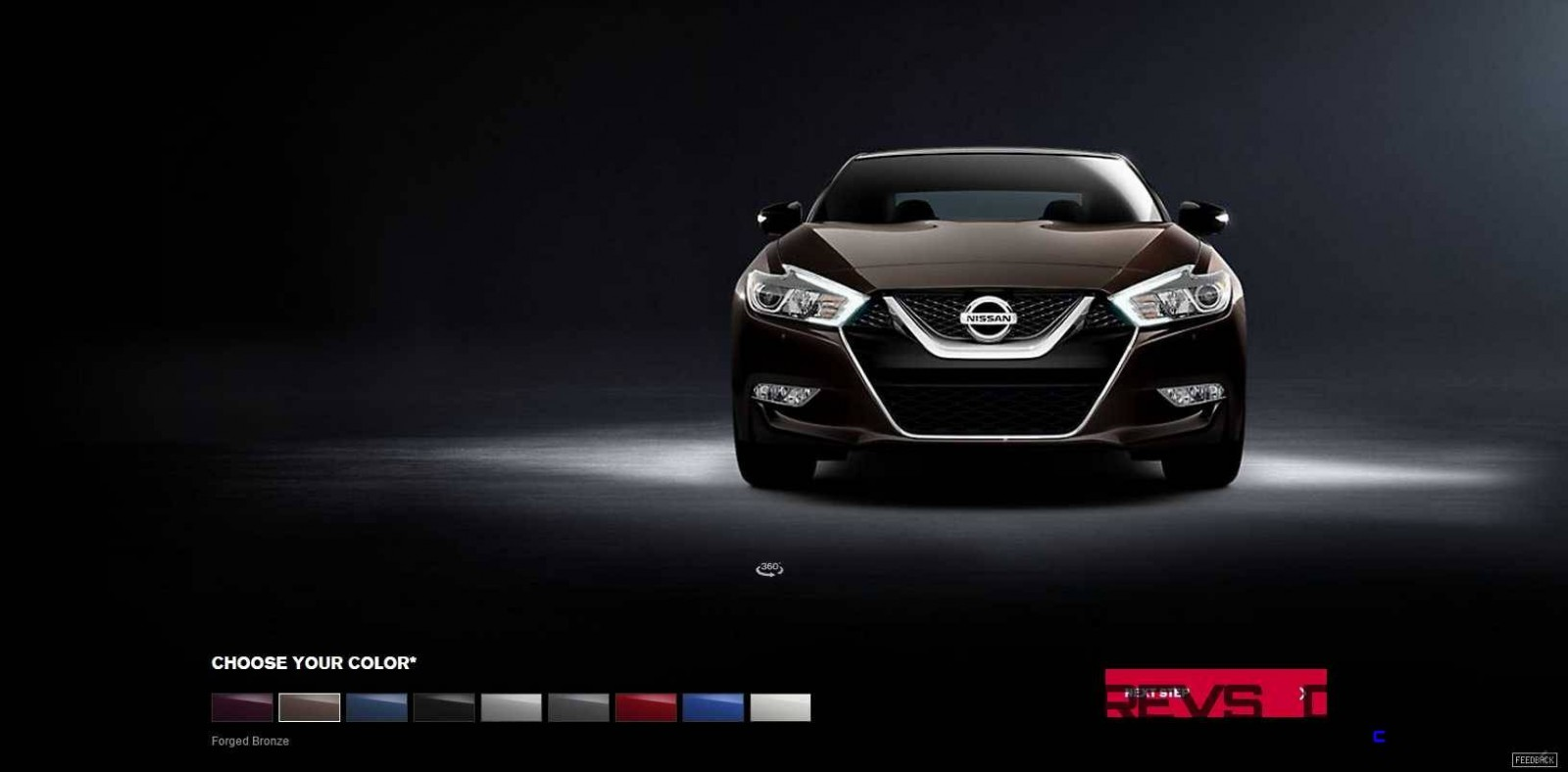 2016 Nissan Maxima Colors and Trims 3