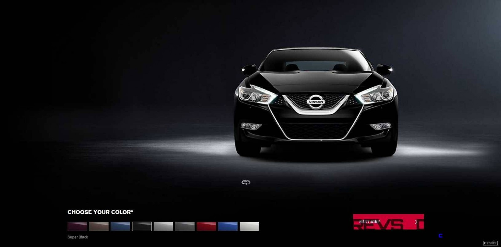 2016 Nissan Maxima Colors and Trims 5
