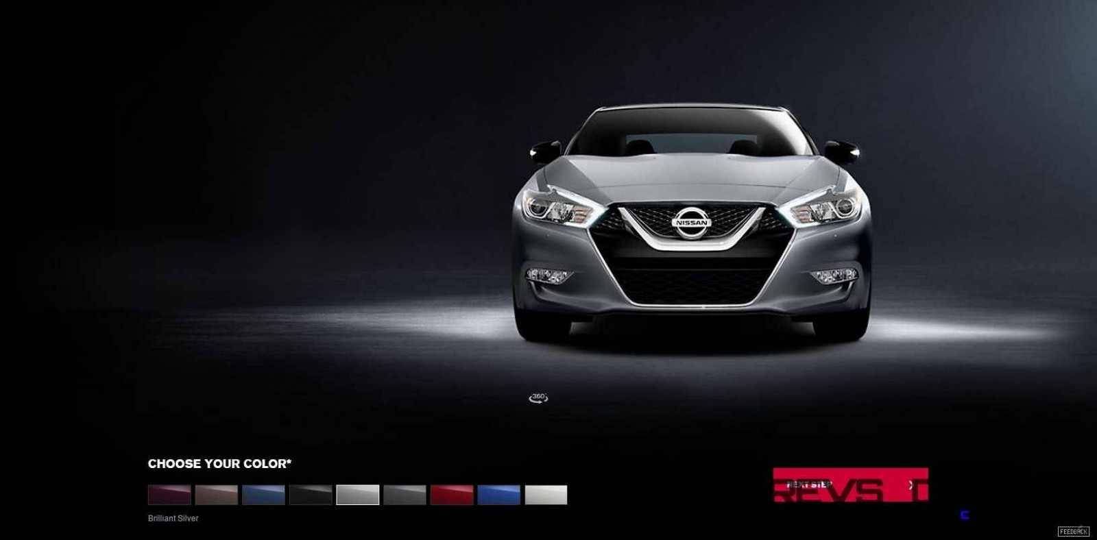 2016 Nissan Maxima Colors and Trims 6