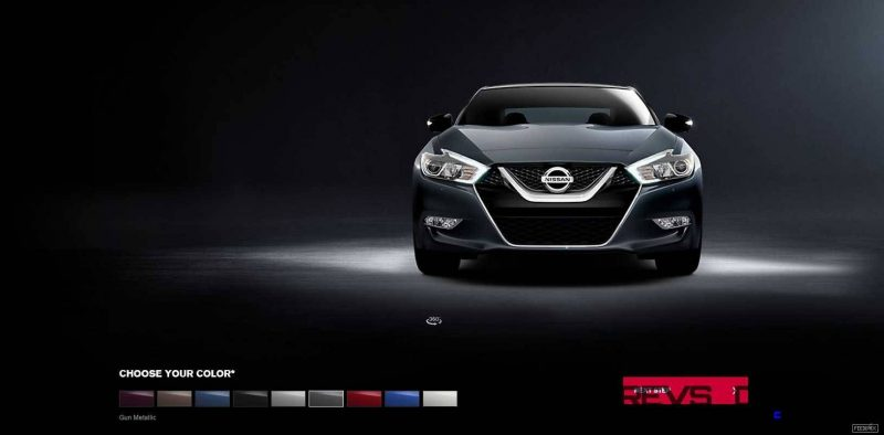 2016 Nissan Maxima Colors and Trims 7