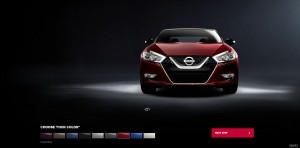 2016 Nissan Maxima Colors and Trims 8