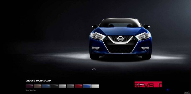 2016 Nissan Maxima Colors and Trims 9