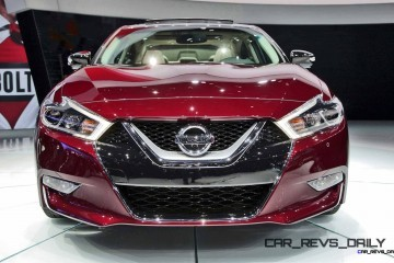 4DSC Returns! 2016 Nissan MAXIMA Bringing Hot Style, Tech and Paddle-Shifted 300HP From $32k!
