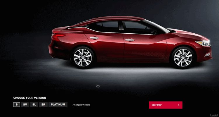 2016 Nissan Maxima Trim Levels Animation Side