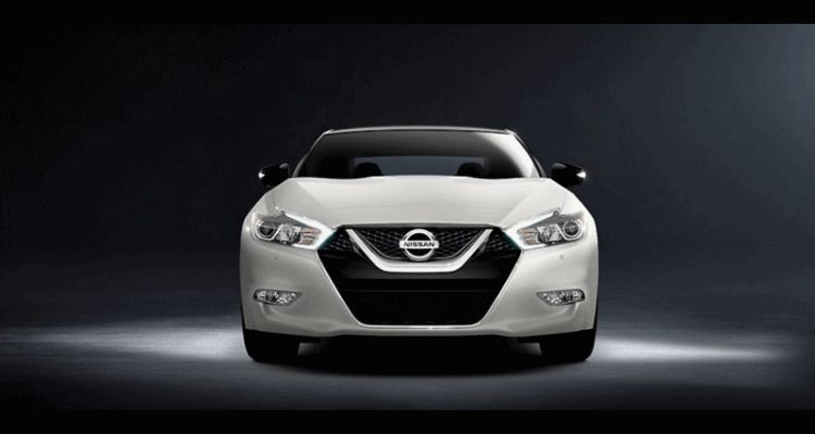 2016 Nissan Maxima white  Animation