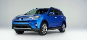 2016 Toyota RAV4 Hybrid Limited 10