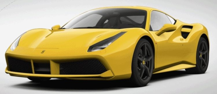 488 gtb colors animation