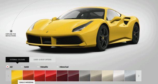 488 gtb colors