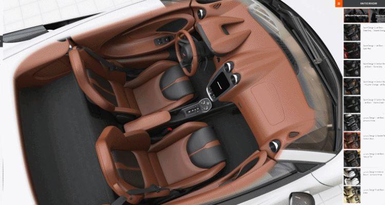 570S interior