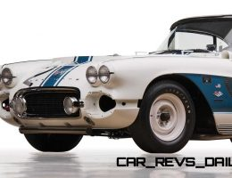 RM Andrews 2015 Preview – 1962 Chevrolet Corvette RPO Big Tank Gulf Oil Race Car