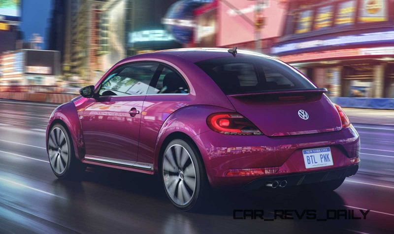 BEETLE PINK REAR