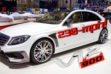 230MPH BRABUS Rocket 900 Is FASTEST 4-Door EVER!