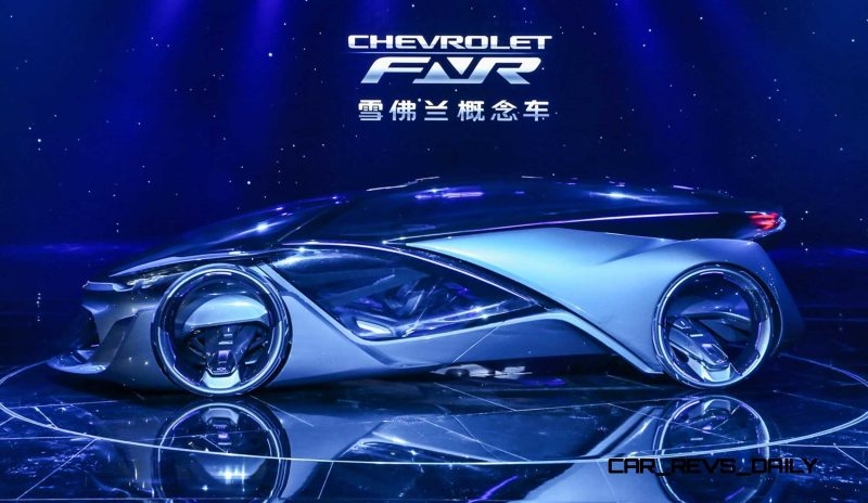 Best of Shanghai - 2015 Chevrolet FNR Concept 1