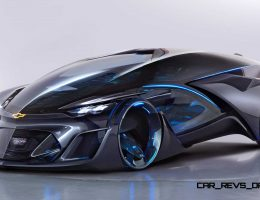 Best of Shanghai – 2015 Chevrolet FNR Concept Is First Self-Driver For Cool People