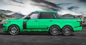 Digital Renderings - StarTech Range Rover 6x6 Long-Box Pickup Truck - 2 Angles + 30 Colors 10 copy