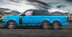 Digital Renderings - StarTech Range Rover 6x6 Long-Box Pickup Truck - 2 Angles + 30 Colors 11 copy
