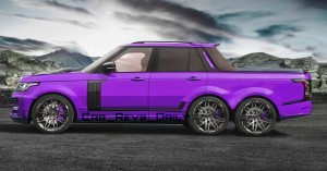 Digital Renderings - StarTech Range Rover 6x6 Long-Box Pickup Truck - 2 Angles + 30 Colors 14 copy