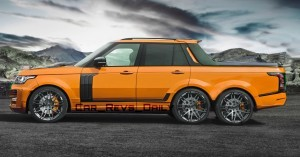Digital Renderings - StarTech Range Rover 6x6 Long-Box Pickup Truck - 2 Angles + 30 Colors 16 copy