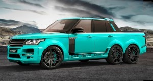 Digital Renderings - StarTech Range Rover 6x6 Long-Box Pickup Truck - 2 Angles + 30 Colors 19