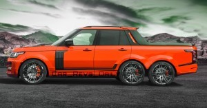 Digital Renderings - StarTech Range Rover 6x6 Long-Box Pickup Truck - 2 Angles + 30 Colors 2 copy