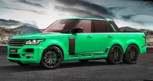 Digital Renderings - StarTech Range Rover 6x6 Long-Box Pickup Truck - 2 Angles + 30 Colors 20