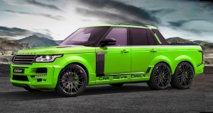 Digital Renderings - StarTech Range Rover 6x6 Long-Box Pickup Truck - 2 Angles + 30 Colors 22