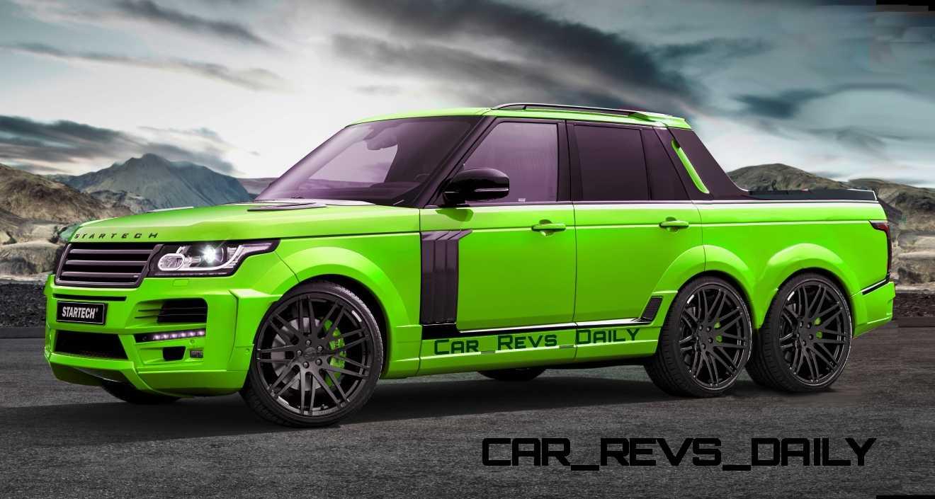startech range rover 6x6 pickup. Black Bedroom Furniture Sets. Home Design Ideas
