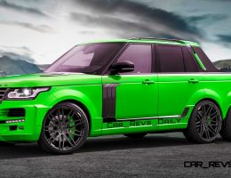 Digital Renderings – StarTech Range Rover 6×6 Long-Box Pickup in 2 Angles + 30 Colors