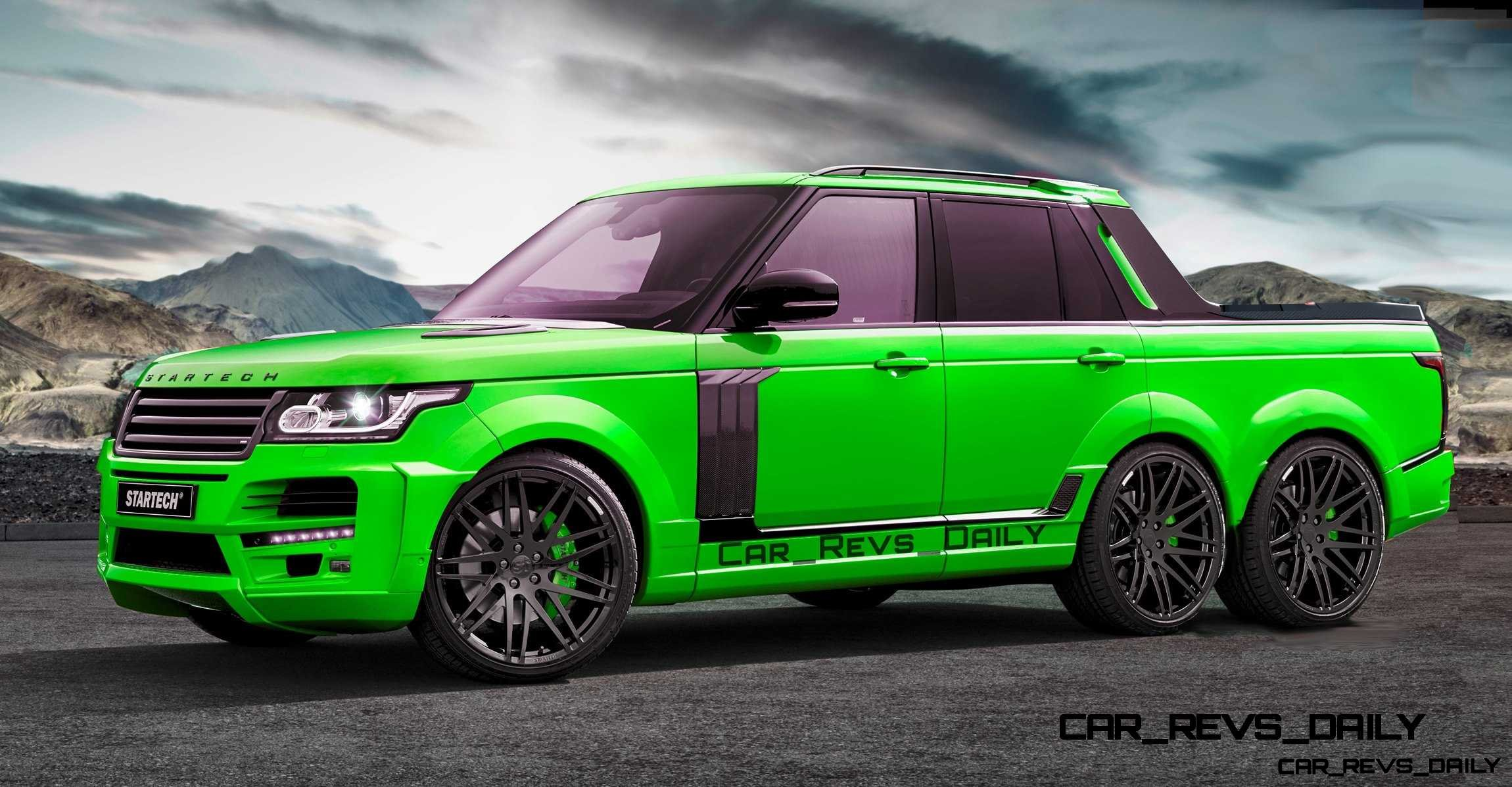 Digital Renderings Startech Range Rover 6 Long Box Pickup In 2 Angles 30 Colors