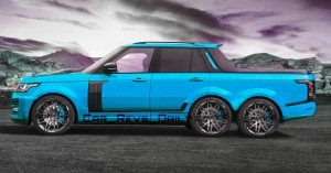 Digital Renderings - StarTech Range Rover 6x6 Long-Box Pickup Truck - 2 Angles + 30 Colors 4 copy
