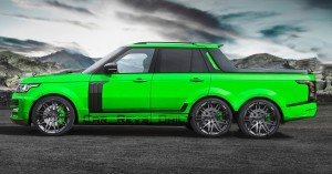 Digital Renderings - StarTech Range Rover 6x6 Long-Box Pickup Truck - 2 Angles + 30 Colors 7 copy