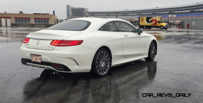 First Drive Review - 2015 Mercedes-Benz S550 Coupe 13