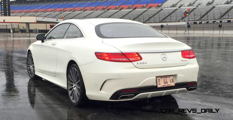 First Drive Review - 2015 Mercedes-Benz S550 Coupe 18