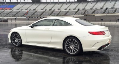 First Drive Review - 2015 Mercedes-Benz S550 Coupe 24