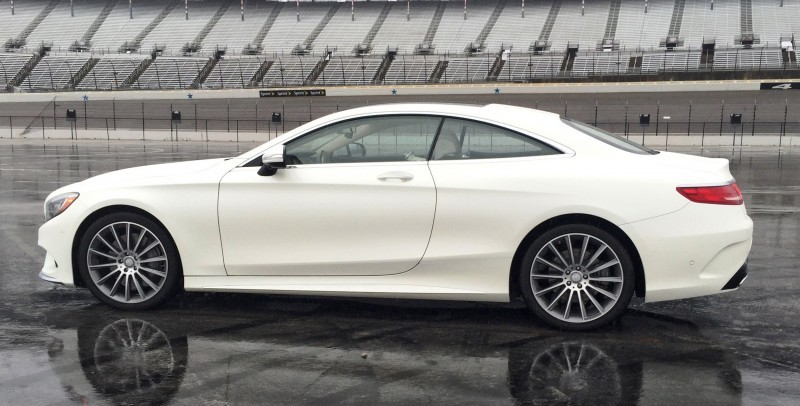 First Drive Review - 2015 Mercedes-Benz S550 Coupe 26