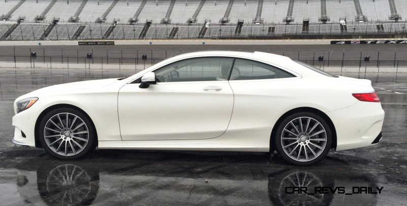 First Drive Review - 2015 Mercedes-Benz S550 Coupe 28